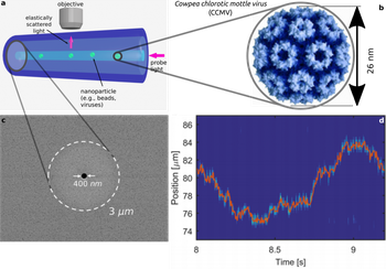 Schematic nanocet principle